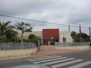 Gate view, entrance
