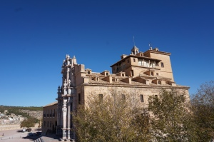 The castle of Caravaca de la Cruz