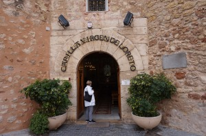 Entrance to Capilla Virgen de Loreto